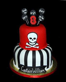 Ay Captain! Pirate Cake