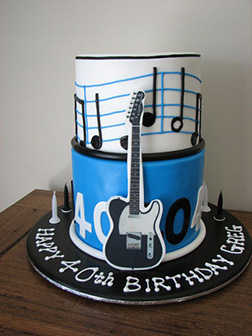 Perfect Chords Guitar Cake
