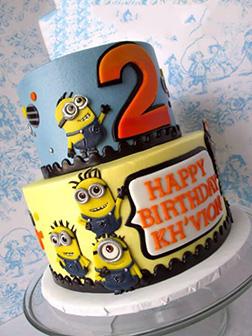 Minion Mischief Birthday Cake