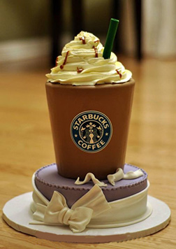 Whipped Dream Frappuccino Cake
