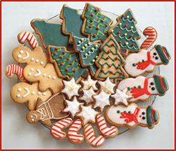 Traditional Christmassy Cookies
