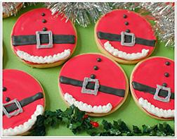 Santa Bellies Cookies