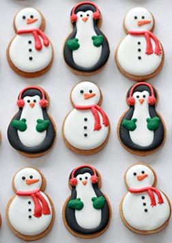 Snowmen & Festive Penguin Cookies