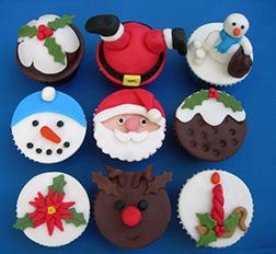 Santa's Magical Dozen (12) Cupcakes