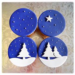 Christmas Eve Dozen (12) Cupcakes