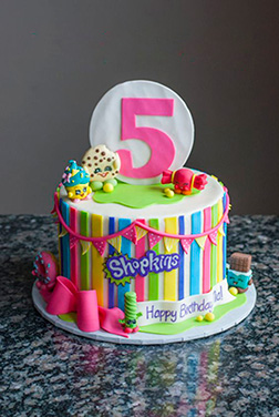 Shopkins Bonanza Cake