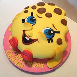 Shopkins Kooky Cookie Cake 1