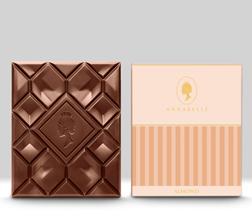 Almond Chocolate Bar By Annabelle