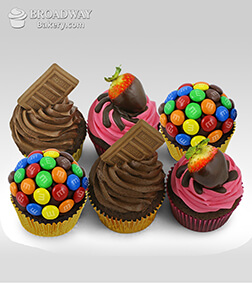 Cupcake Cravings -Box of 6