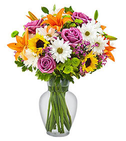 Cheerful Blooms Bouquet