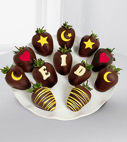 Chocolate Dipped Eid Berry Gram