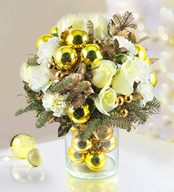 Dazzle Me With Gold Bouquet