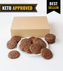 Keto Double Chocolate Cookie By Broadway Bakery.
