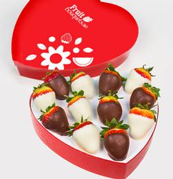 Perfect Pair Dipped Strawberries