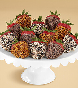 Sprinkles Overload - Dozen Dipped Strawberries