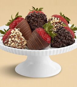 Choco-refic Half Dozen Dipped Strawberries