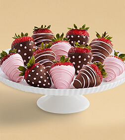 Tickled Pink - Dozen Dipped Strawberries