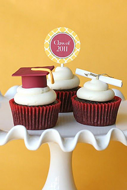 Convocation Cupcakes
