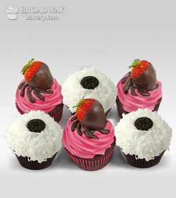 Party Line Cupcakes - Half Dozen