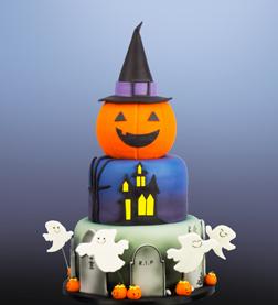 Spook Tacular Halloween Cake