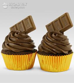 Chocolate Bomb - 2 Cupcakes