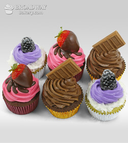 Celebration Cupcakes - Half dozen