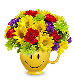 It's Your Day Smiley Bouquet