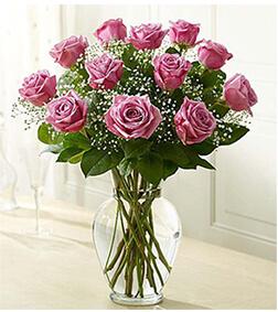 Premium Stem Purple Roses