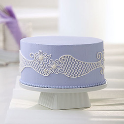 Lovely Lattice Cake