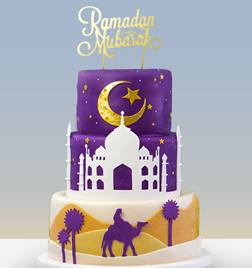 Mystical Ramadan Nights Cake