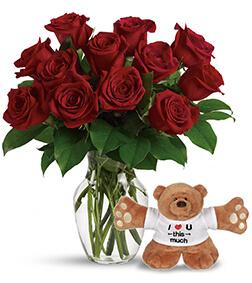 Roses N Lots-O'-Huggin