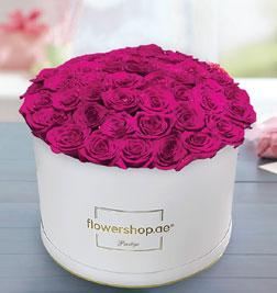 Prestige 50 Rose White Hatbox