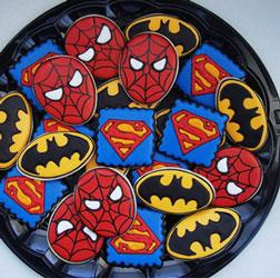 Superheroes Unite Cookies