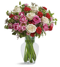 Splendid in Red Bouquet