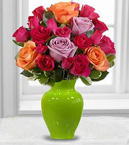 Sun Sweetness Rose Bouquet