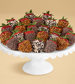 Sprinkles Overload - Two Dozen Dipped Strawberries