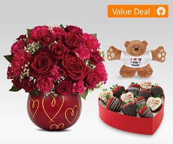 Valentine Hugs & Treats Bundle