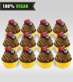 Vegan Chocolate Cupcakes - Dozen Cupcakes