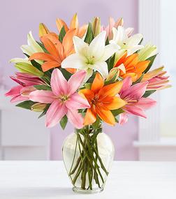 Vibrant Summer Lily Bouquet