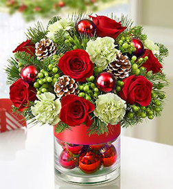 Yuletide Shimmer Bouquet