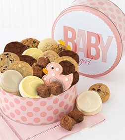 Welcome Baby Girl Gift Box