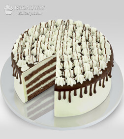 Chocolate Lovers Custard Cake - 1/2kg