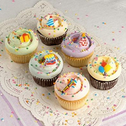 Confetti Party Dozen Cupcakes