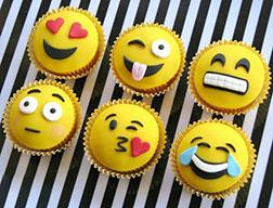 Silly Smileys Dozen Cupcakes