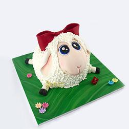 Rolling In The Field Cake