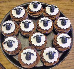 Happy Flock Eid Cupcakes
