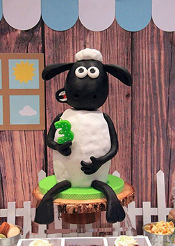 Sean The Sheep Cake