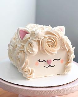 Rosette Sheep Eid Cake