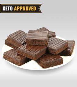 Keto Chocoholic Brownie By Broadway Bakery.