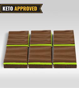 Keto Chocomint Brownie By Broadway Bakery.